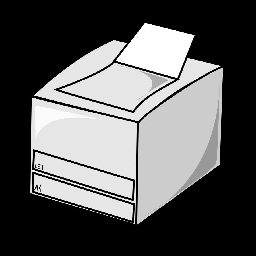 Laser Printer Clipart-Laser printer Clipart-7
