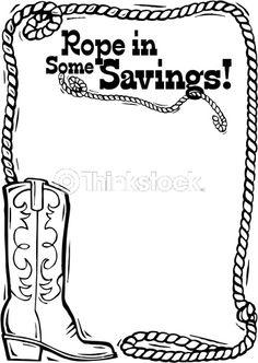 Lasso Rope Clip Art Corner | Border Heading Rope In Some Savings