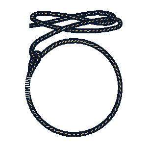 Lasso Rope Clipart #1