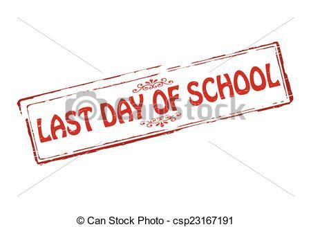 Last day of school .-Last day of school .-8