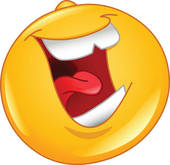 Laughing Out Loud Emoticon Royalty Free Clip Art