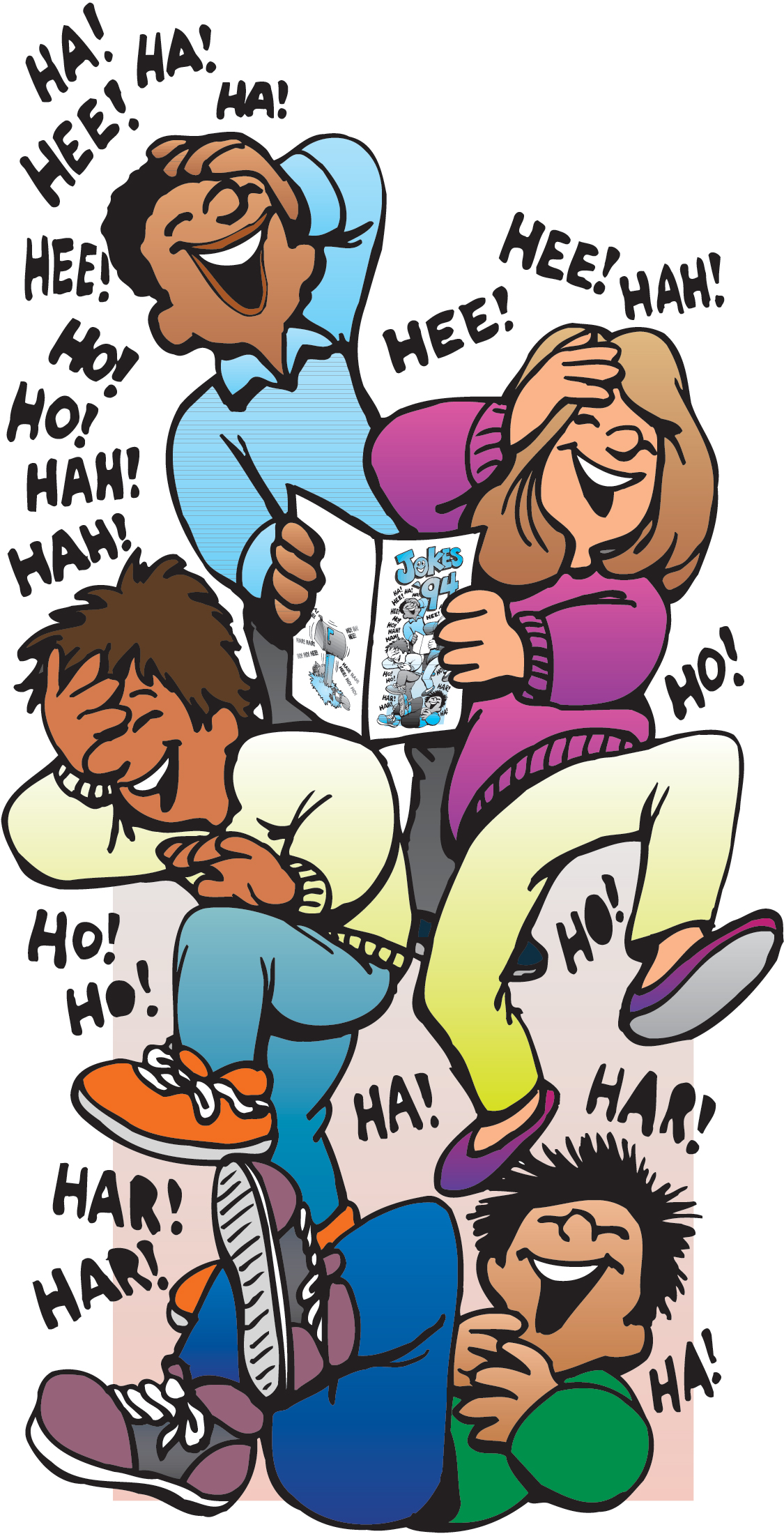 laughter clipart