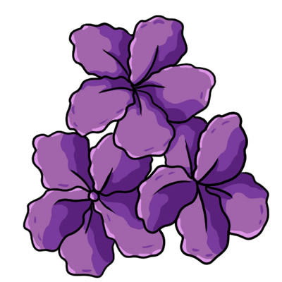 Lavender Flower Clipart u0026middot; intention clipart