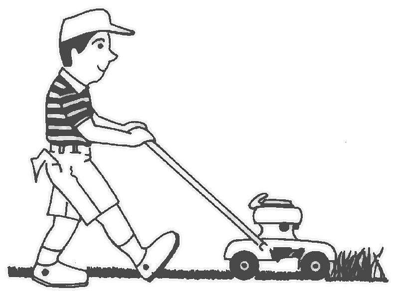 Lawn Mower Art Cliparts Co