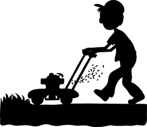 Mowing The Lawn Clip Art Imag
