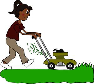 Lawn Mower Clip Art Images Lawn Mower Stock Photos Clipart Lawn