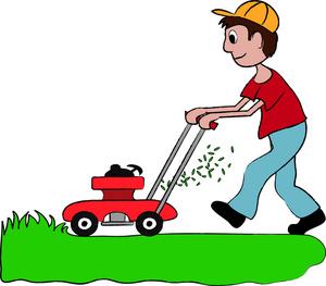Lawn Mower Clip Art-Lawn Mower Clip Art-7