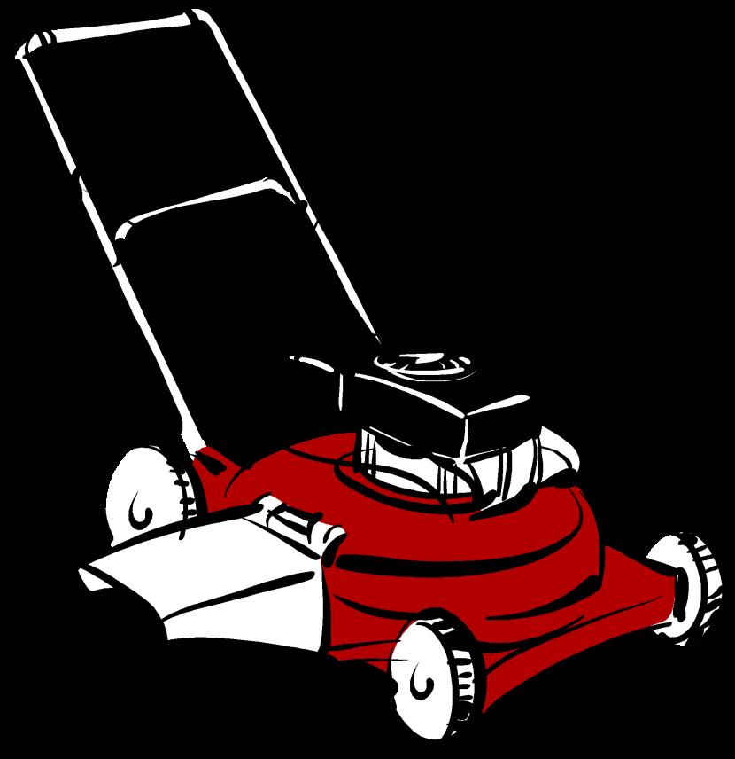 Lawn Mower Clipart Free Clip  - Clipart Lawn Mower