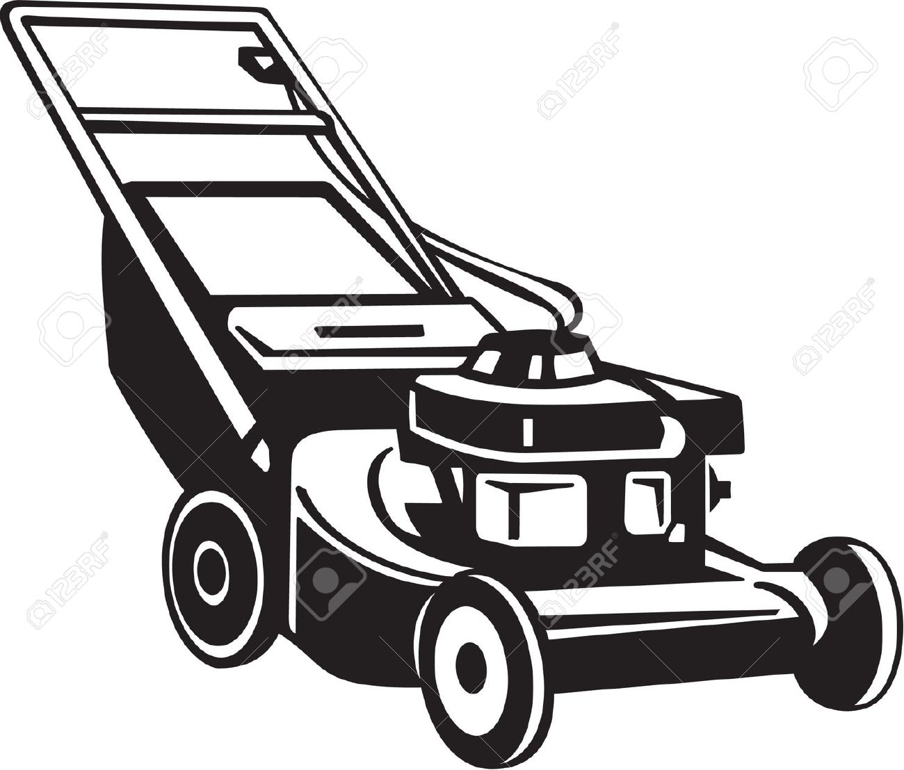 Lawn Mower: Power Lawnmower .-lawn mower: Power Lawnmower .-5