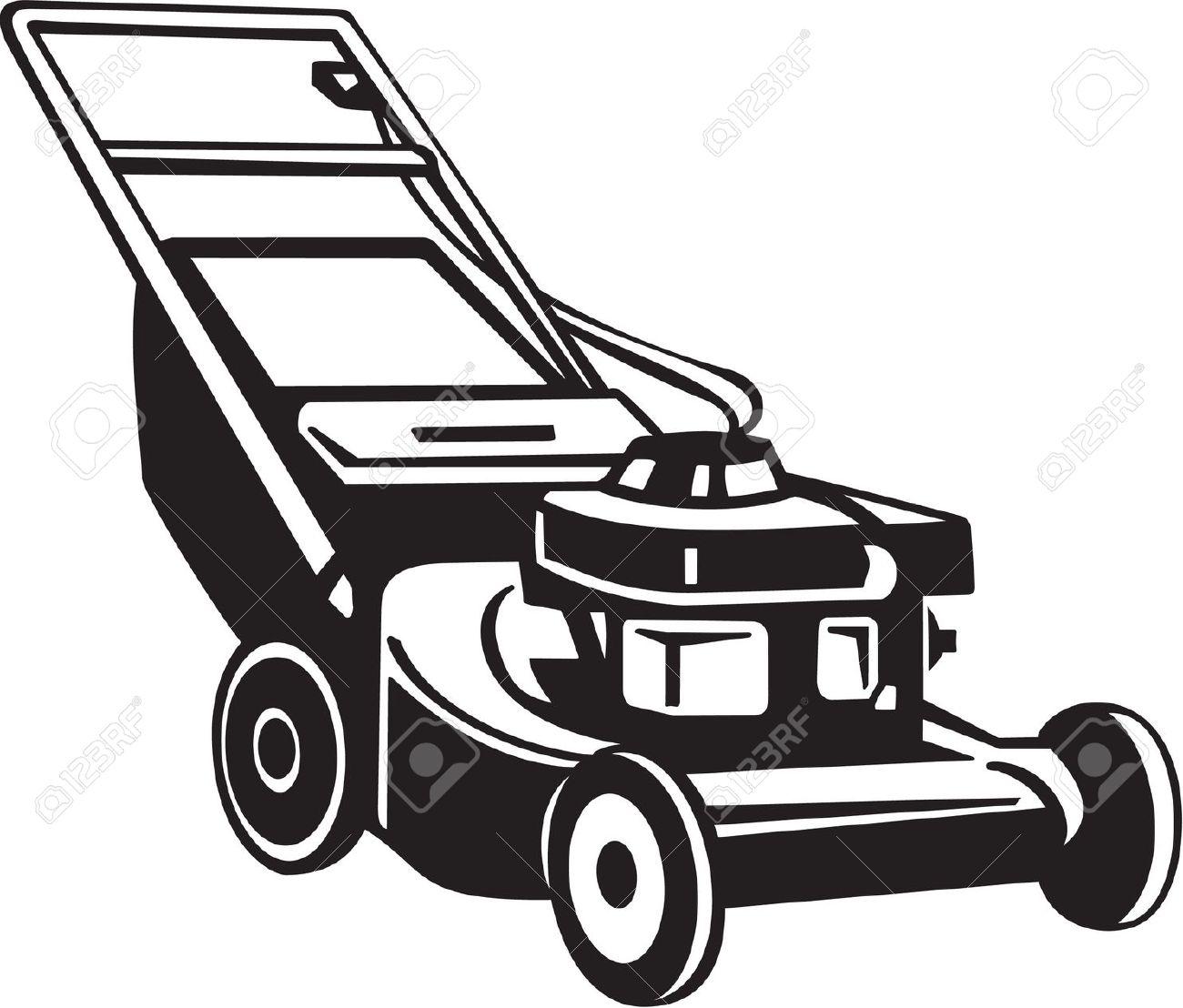 lawn mower: Power Lawnmower .