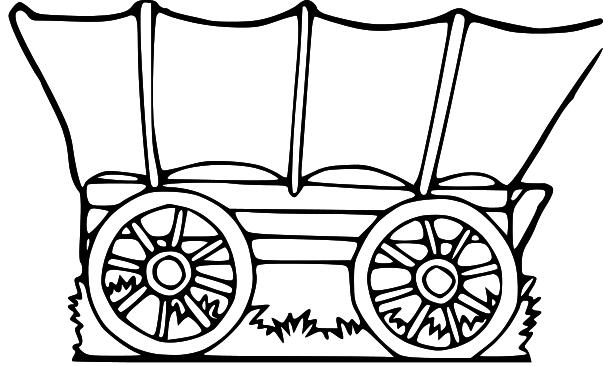 LDS Clipart: wagon clip art