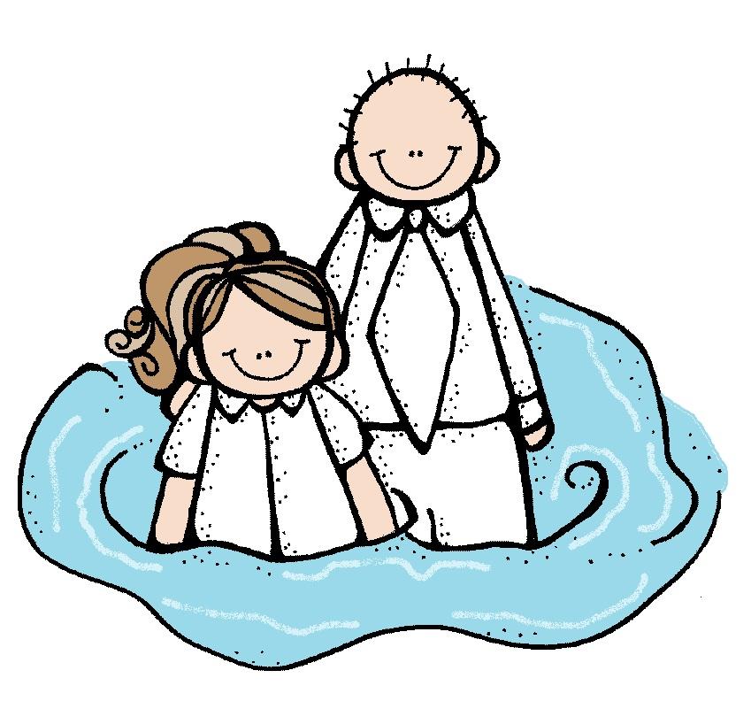 LDS illustrating: Baptism .