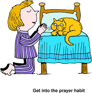 Lds prayer clipart .