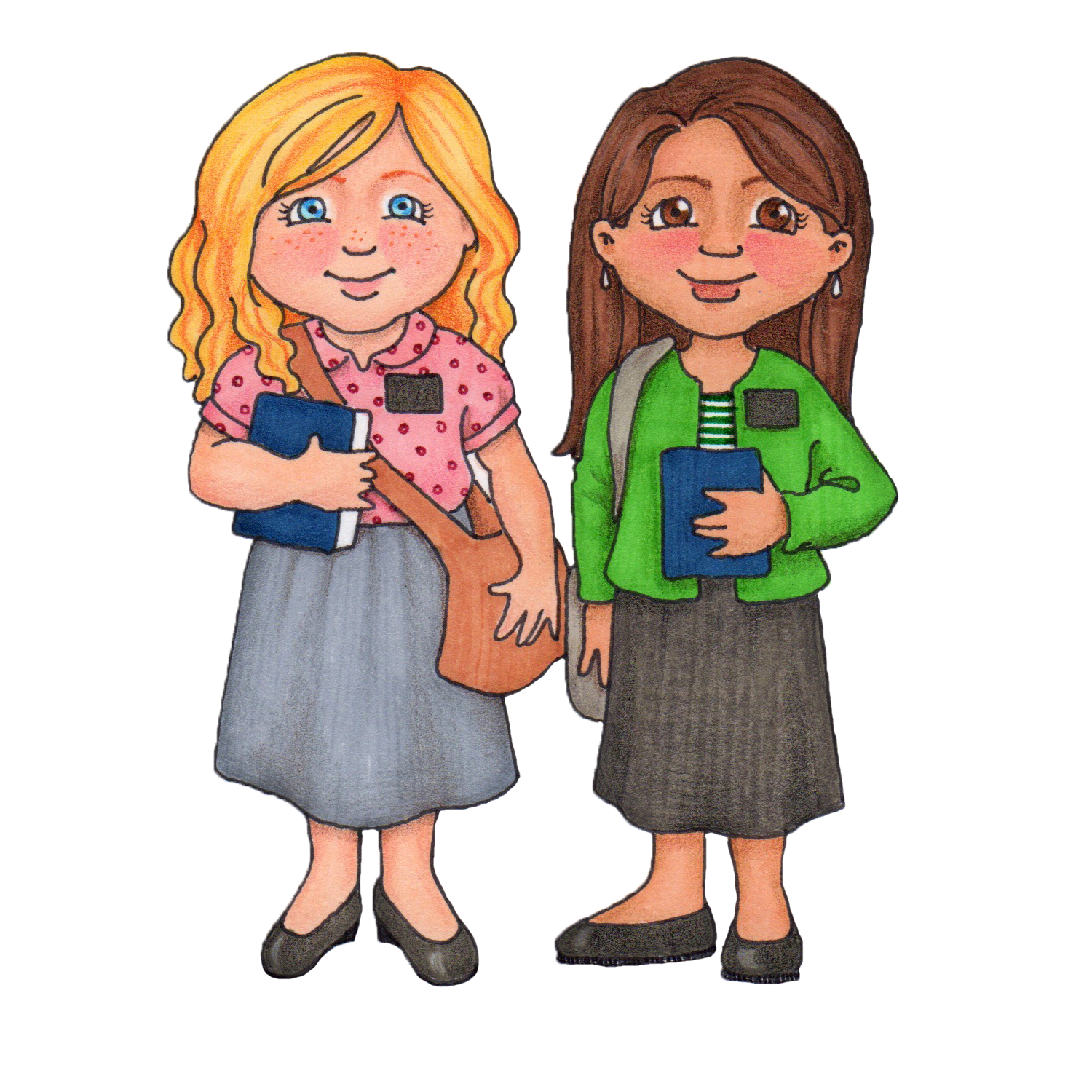 Lds Sister Missionary Clip Art