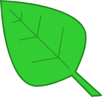 Leaf Clip Art Version 04