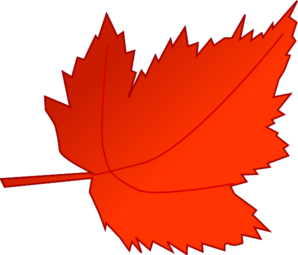 Maple Red Leaf Clip Art - Leaf Clipart