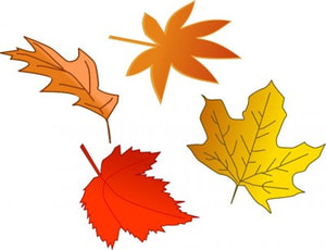 Leaf free fall leaves clip art collections