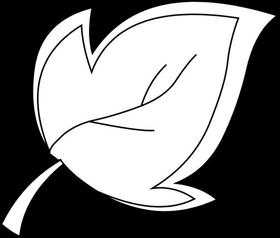 Leaf Outline Clip Art Black Clipart Panda Free Clipart Images