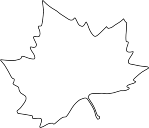 Leaf Outline Clip Art
