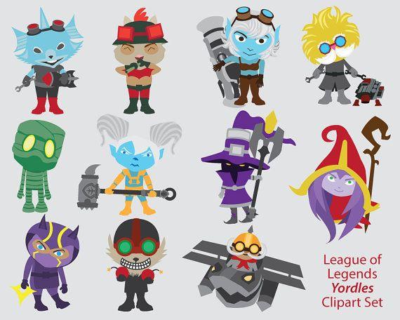 Clipart Info - League Of Legends Clipart