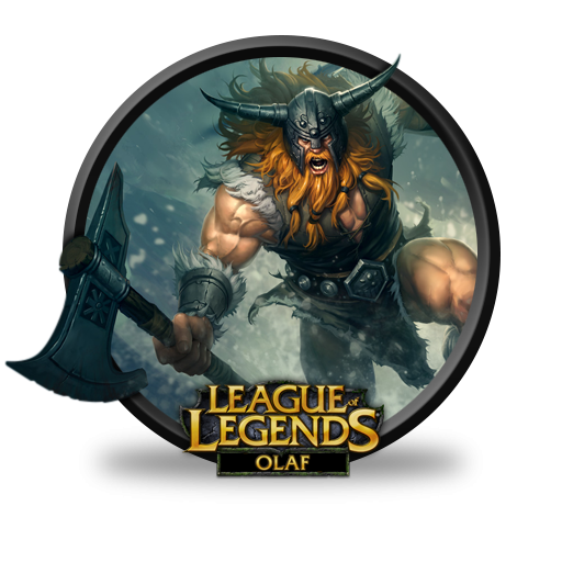 League Of Legends Olaf Icon - League Of Legends Clipart