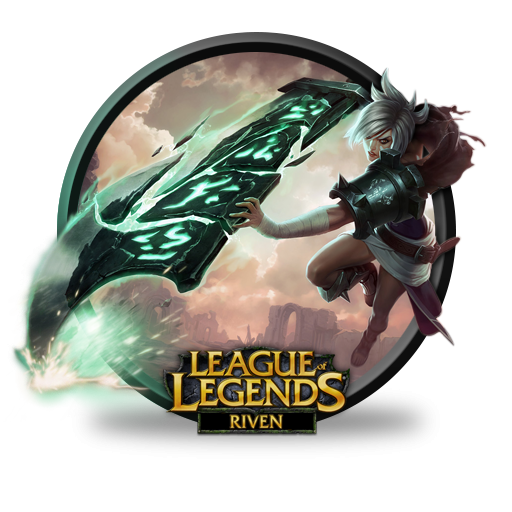 League Of Legends Riven Icon-League Of Legends Riven Icon-19