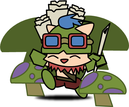 League of legends: Teemo by Redstar212 ClipartLook.com