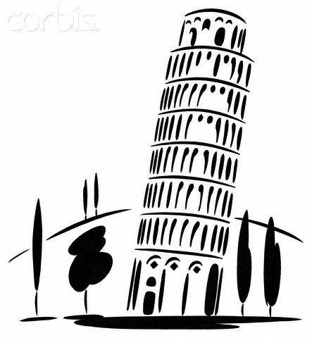 Leaning Tower Of Pisa Clipart Leaning Tower Of Pisa