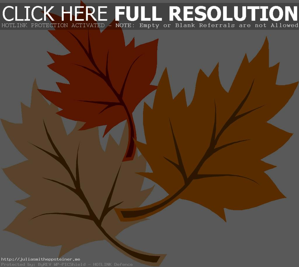 19 leaves clipart clipartlook