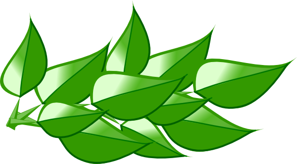 Leaves 4 clip art