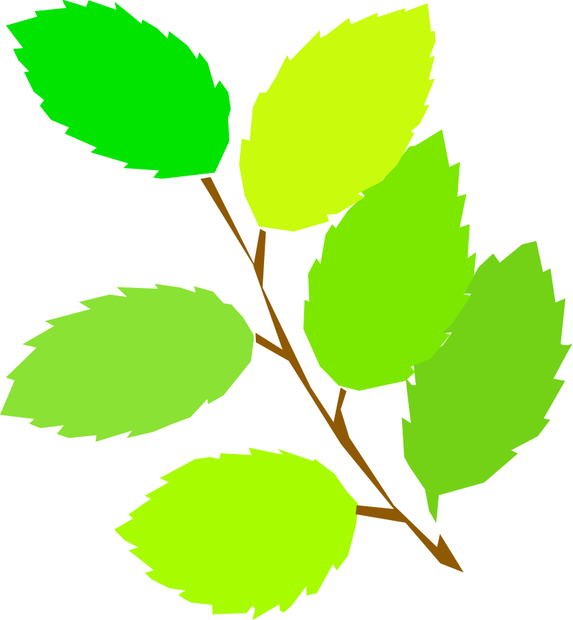 Leaves leaf clip art free vector in open office drawing svg svg 2