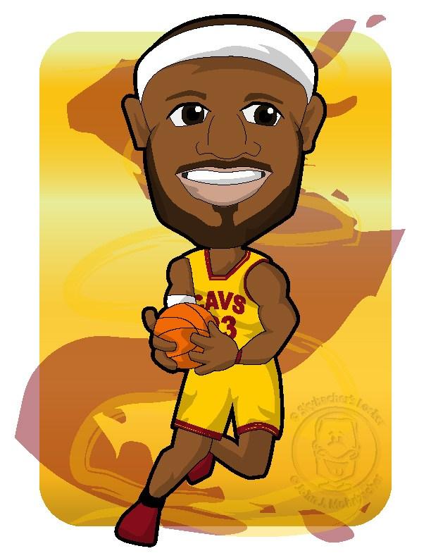 cavs lebron, Lebron cartoon, cavs basket-cavs lebron, Lebron cartoon, cavs basketball, cavs clipart-14