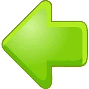 Left Arrow Green clip art .-Left Arrow Green clip art .-5