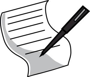 Legal Document Clipart Image: .