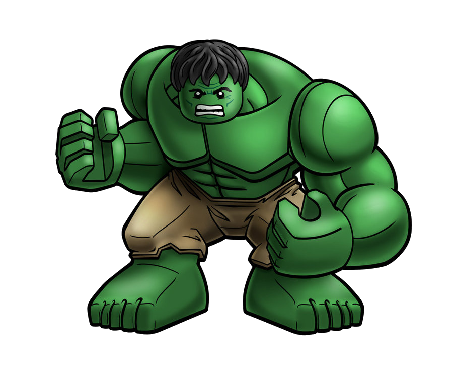 Lego Incredible Hulk Clipart