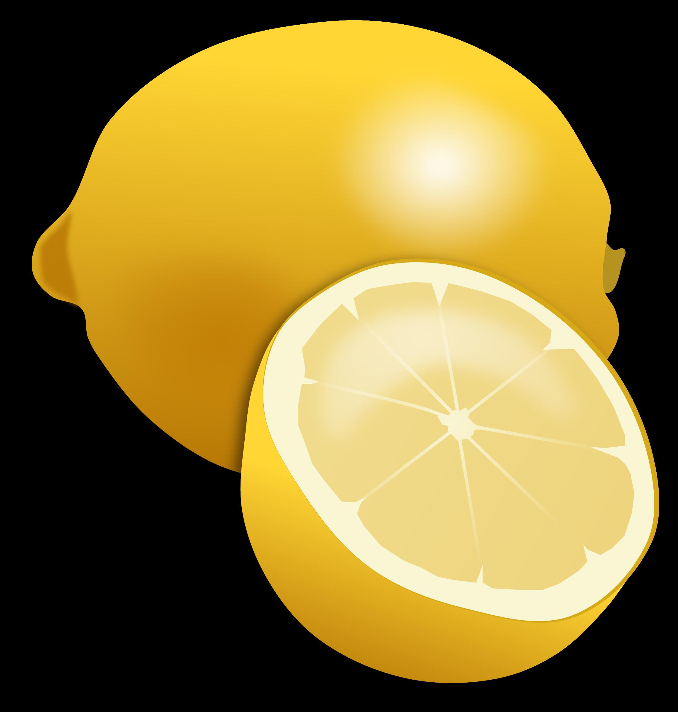 Lemon - Lemon Clipart