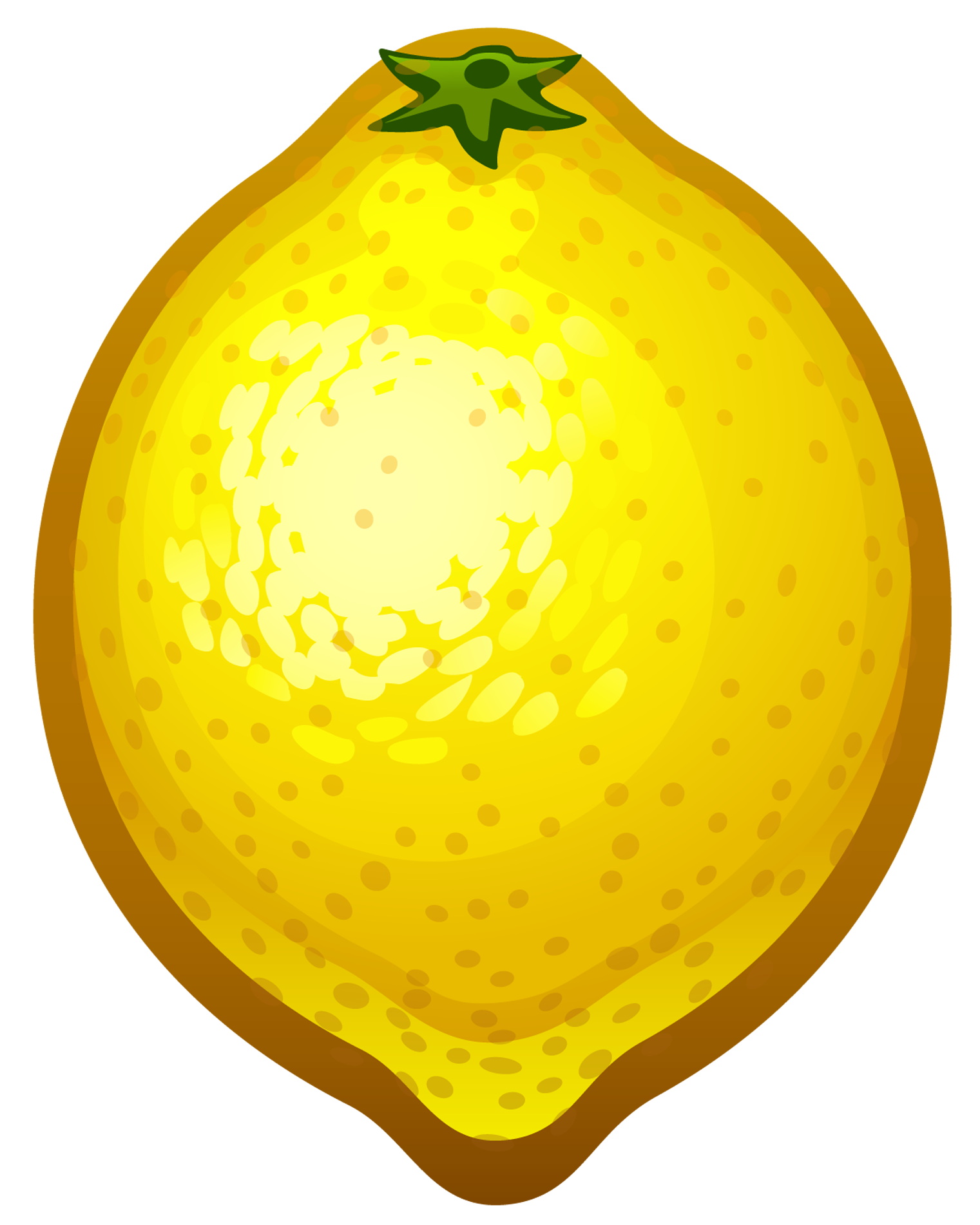 Lemon clip art vector lemon g - Lemon Clipart