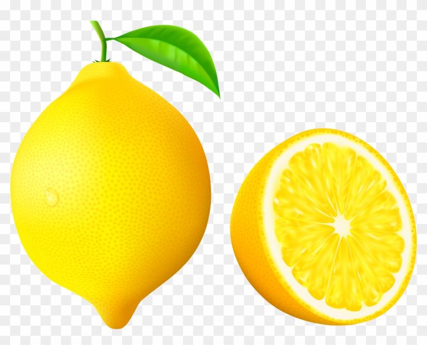 Lemon Clipart Vector - Lemon Png Vector #376180
