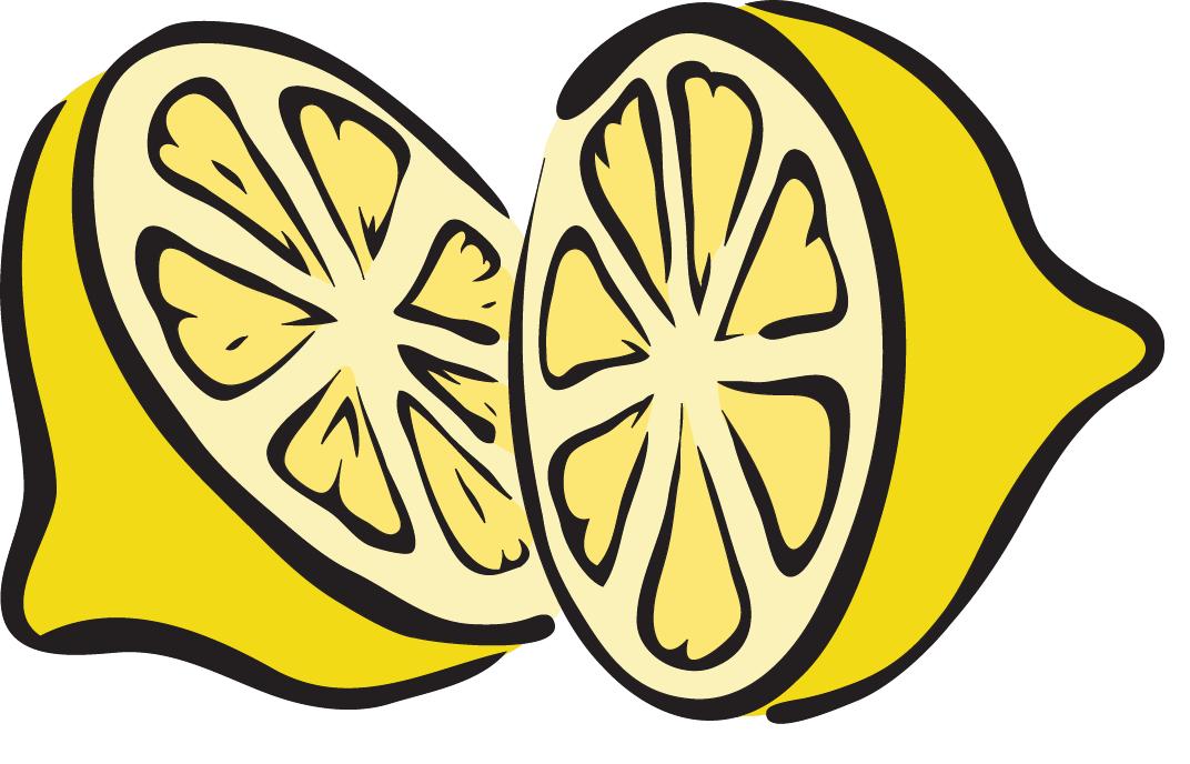 Lemon no fire or flames allowed clip art-Lemon no fire or flames allowed clip art free vector image 9-7