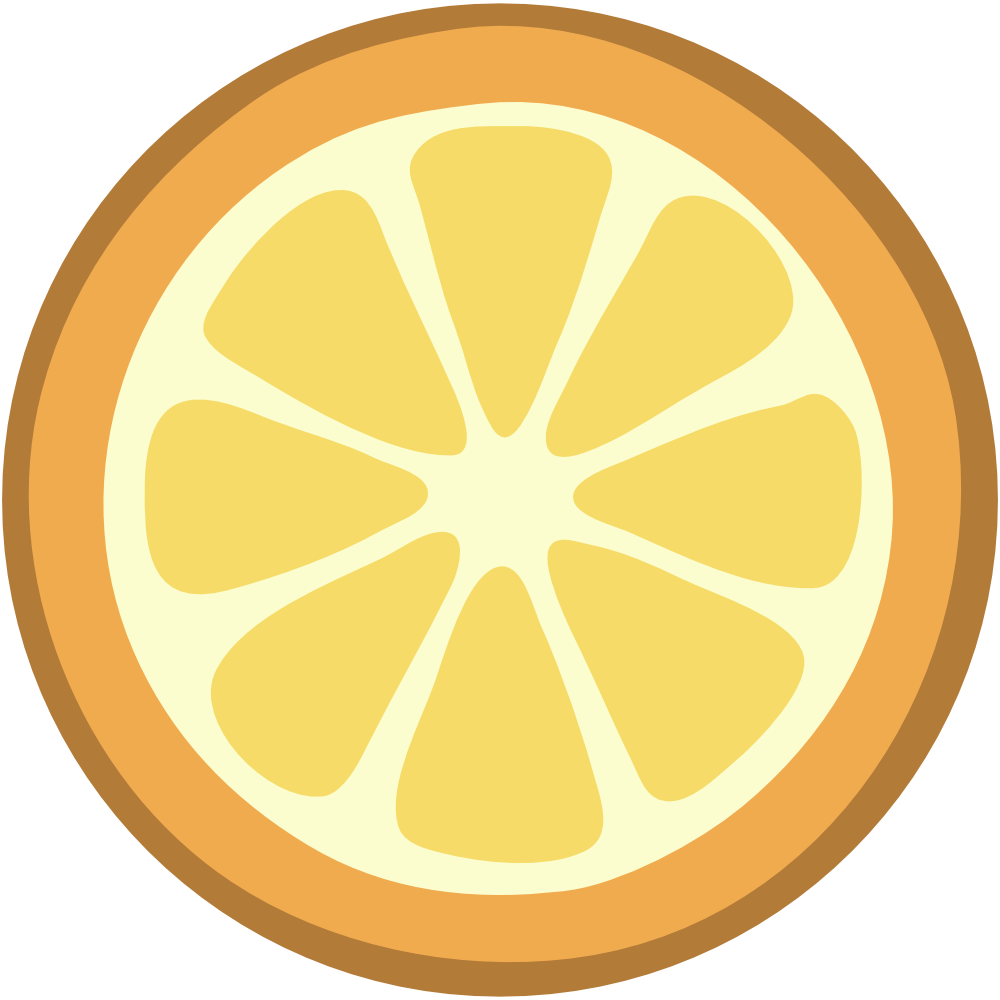 Lemon slice clip art 2