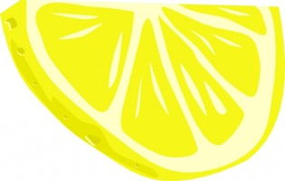 Lemon slice clip art free .