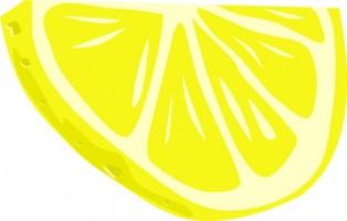 Lemon slice clip art free . - Lemon Slice Clip Art