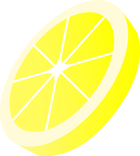 lemon slice clip art Gallery