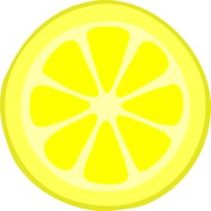 Lemon Slice clip art-Lemon Slice clip art-9