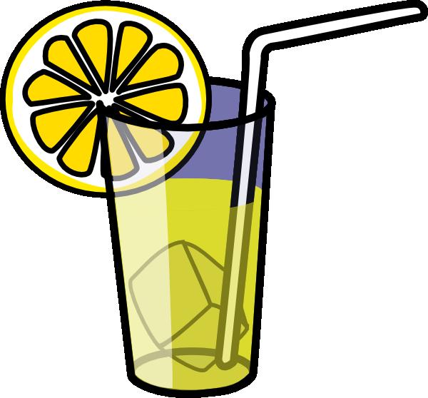 lemonade clipart black and white