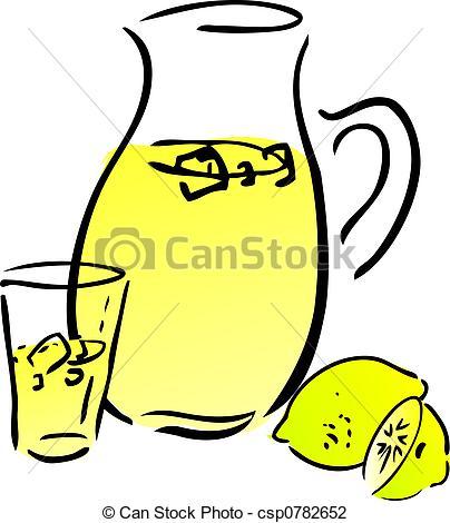 ... Lemonade and lemons, retro hand-drawn style. Lemon and lemon... Lemonade and lemons Clip Artby ...