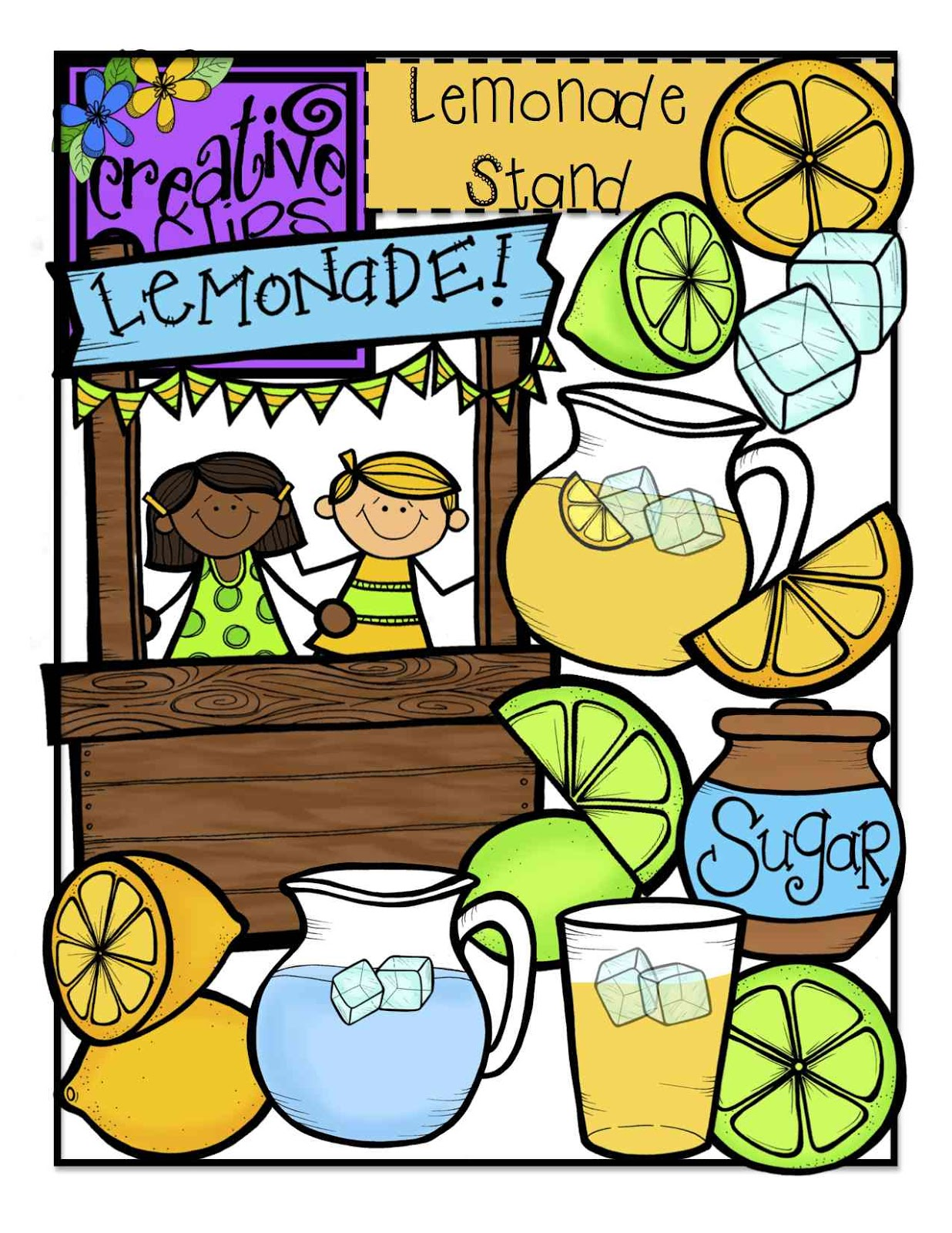 Lemonade Stand Clipart {Echo . All You H-Lemonade stand clipart {Echo . All you have to do is u0026quot;likeu0026quot; .-12