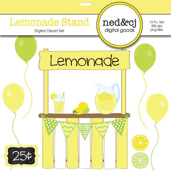 ... Lemonade Stand Digital Sbook Clipart-... lemonade stand digital sbook clipart lemonade clipart lemon ...-13