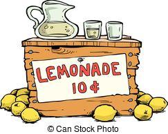 ... Lemonade - Trade lemonade on a white background vector.
