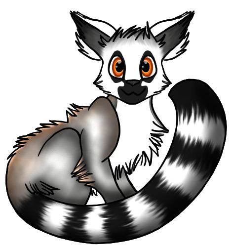 Lemur Clip Art